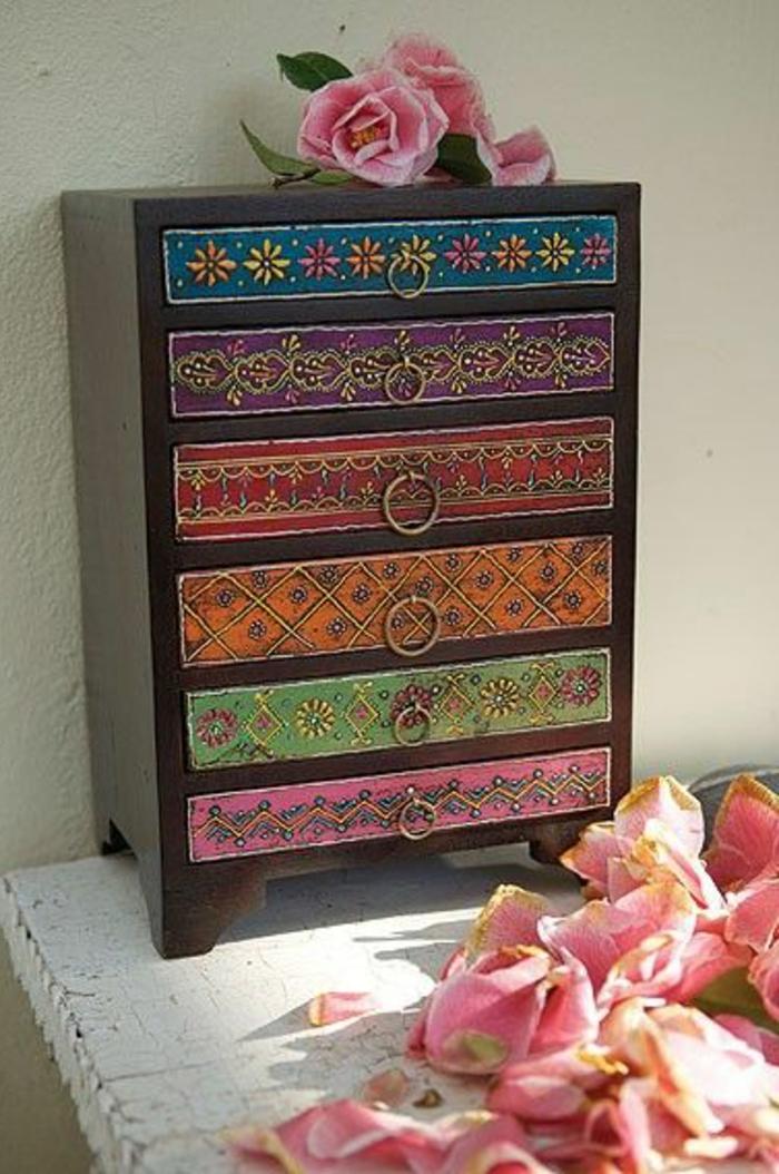 joli-meuble-renove-comment-renover-le-meuble-en-bois-massif-tiroirs-colorés