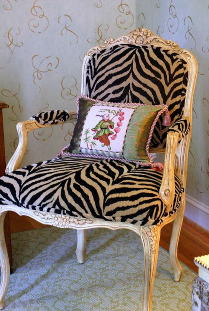 Chaise Fauteuil Pour Salon : Le fauteuil zèbre dans photos inspirantes