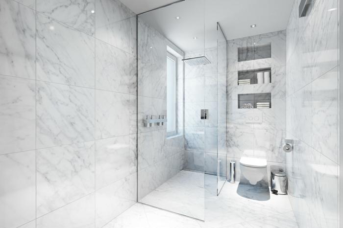 Peindre du marbre salle de bain id es de for Refection murs salle de bain