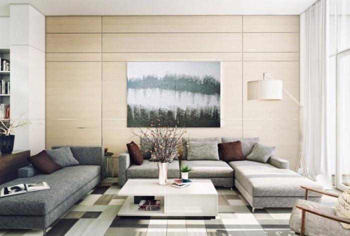 la-décoration-de-votre-salon-bien-aménagé-lampedaire-beau-peinture