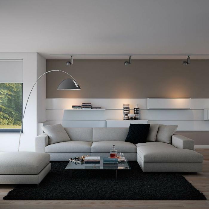 lampadaire-pour-salon-design-idées-déco-salle-lampadaire-salon-design