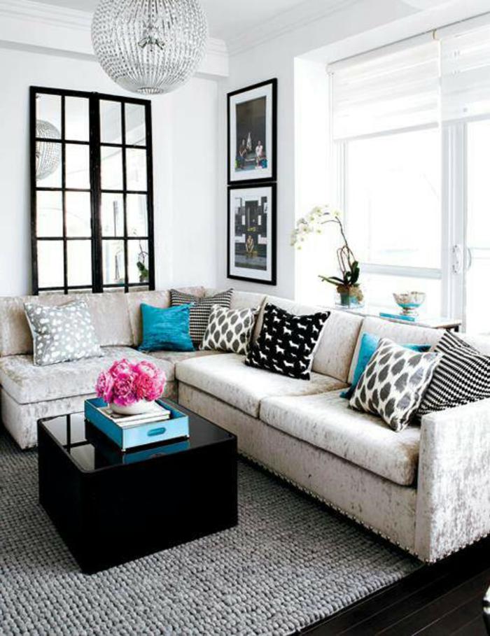 le-canapé-design-salon-noir-et-blanc-canape-confort-cuir-dans-la-maison