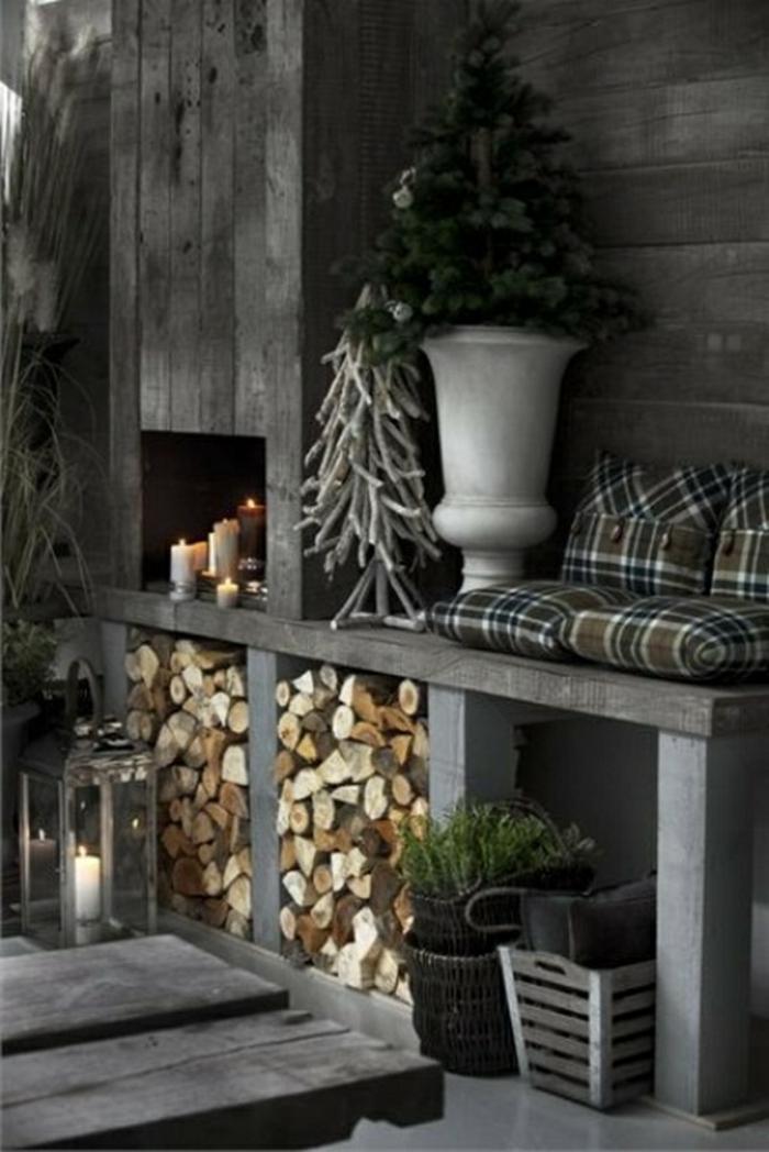 les-décors-de-noël-décoration-noel-originale-idée-gris