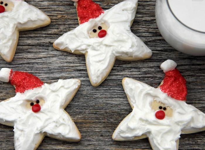 les-meilleures-biscuit-de-noël-jolie-idee-pour-la-biscuit-de-noël-en-forme-d-etoile