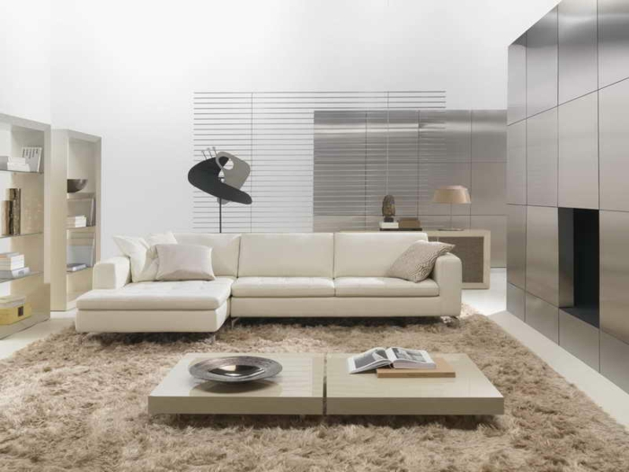 les-tapis-de-salon-moderne-idées-aménagement-salon