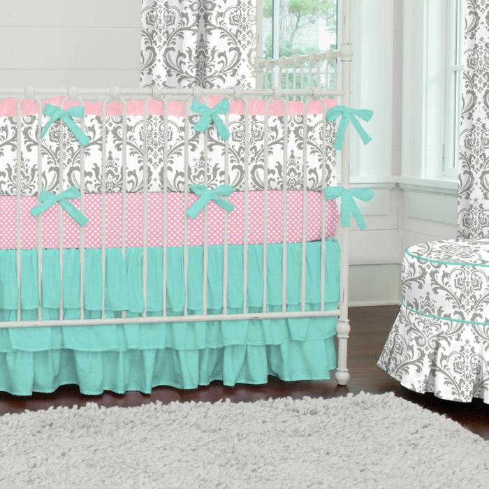 linge-de-lit-bébé-garçon-linge-de-lit-bebe-bleu