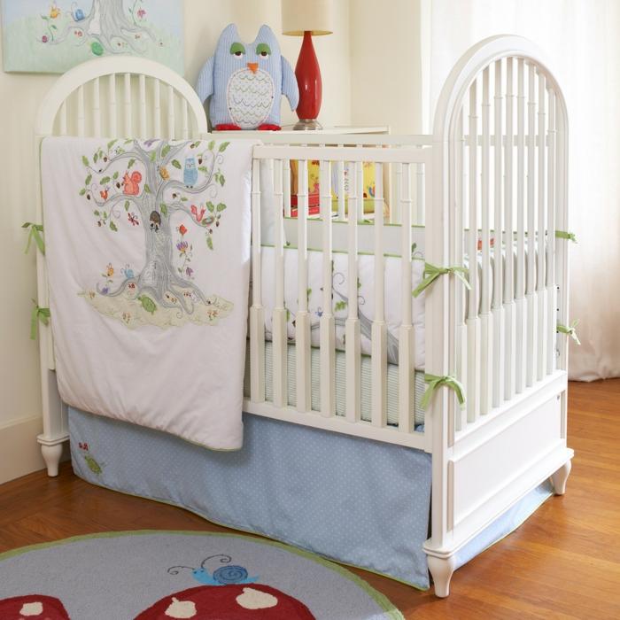 linge-de-lit-bébé-linge-de-lit-bebe-idée-mignon-bleu