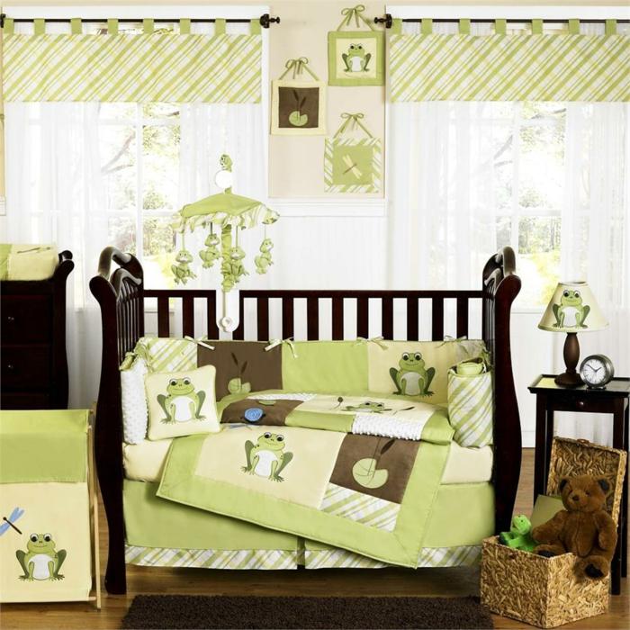 linge-de-lit-bébé-linge-de-lit-bebe-idée-mignon-déco