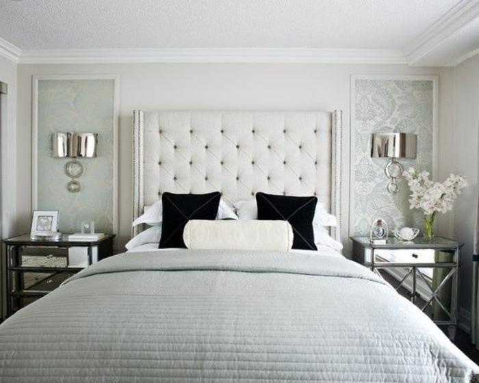 Les meilleures variantes de lit capitonn dans 43 images - Belles chambres a coucher ...