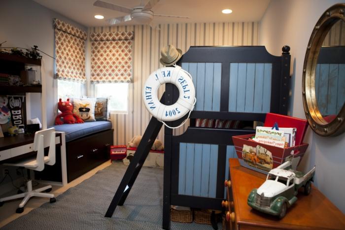 lustre-chambre-bébé-déco-chamber-bébé-magnifique-marine