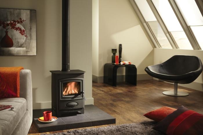 maison-design-d-intérieur-poêle-à-bois-salon-bien-aménagé-belle-idée-salle-de-séjour-amenagement