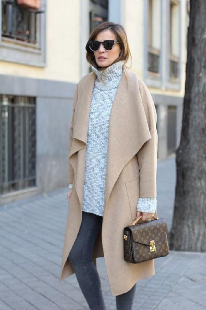 manteau-camel-modèle-élégant-et-simple-de-manteau-camel