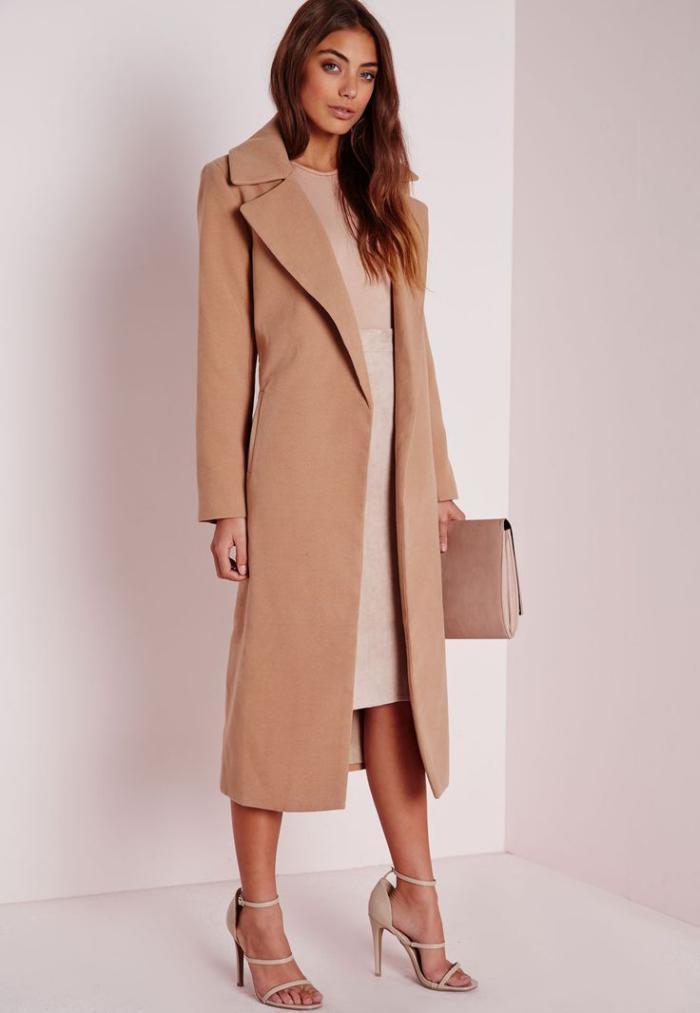 manteau-camel-s'habiller-en-beige-camel