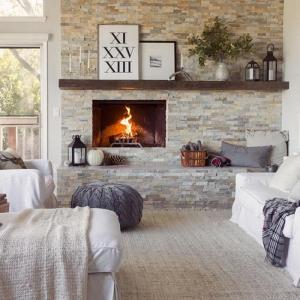 Comment décorer son manteau de cheminée - galerie d'idées inspiratrices