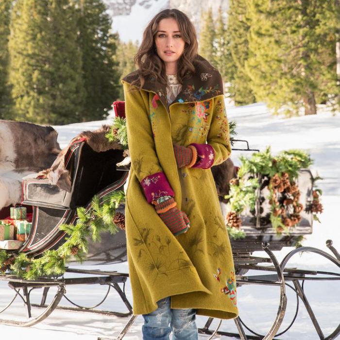 Le Manteau En Laine Bouillie Pour Sublimer Votre Look D 39 Automne