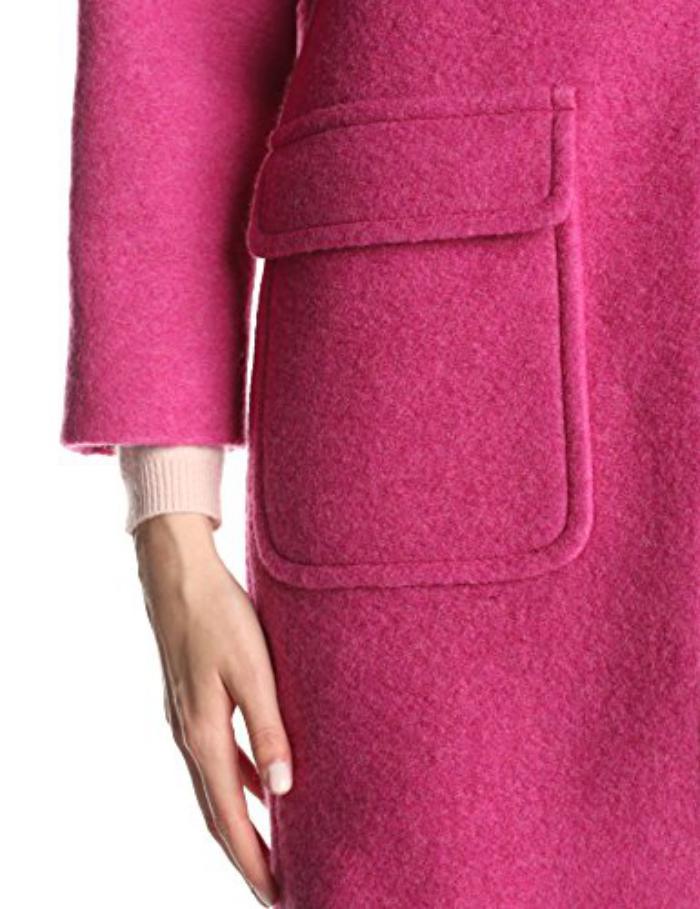 manteau-en-laine-bouillie-beau-manteau-rose-poches-rectangles