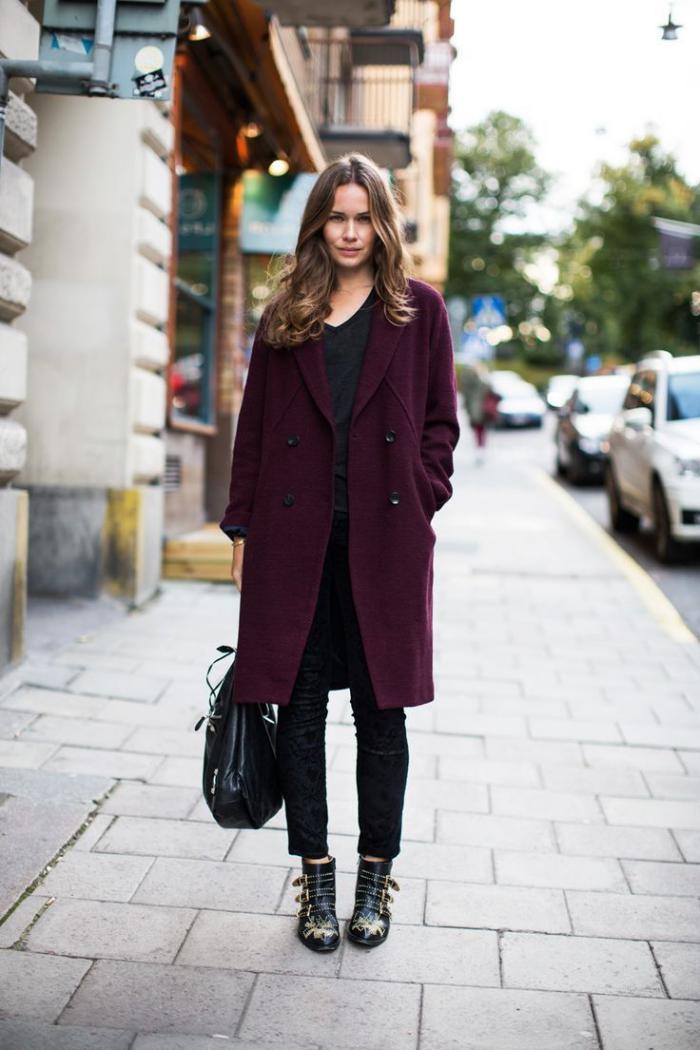 manteau-en-laine-bouillie-le-beau-street-style-d'hiver