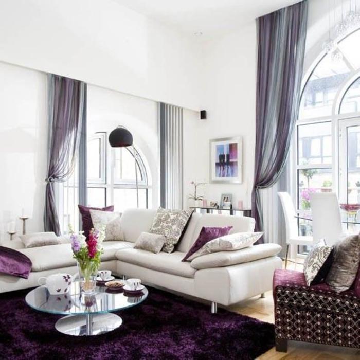 mauve-couleur-chambre-en-violet-design-d-intérieur-cool