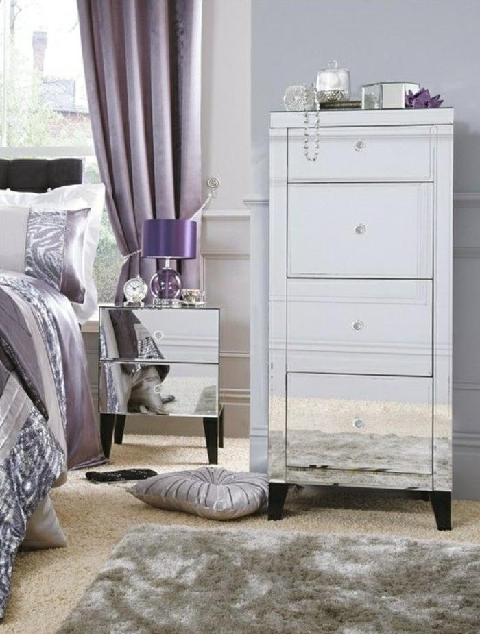 mauve-couleur-chambre-en-violet-design-d-intérieur-parme-couleur