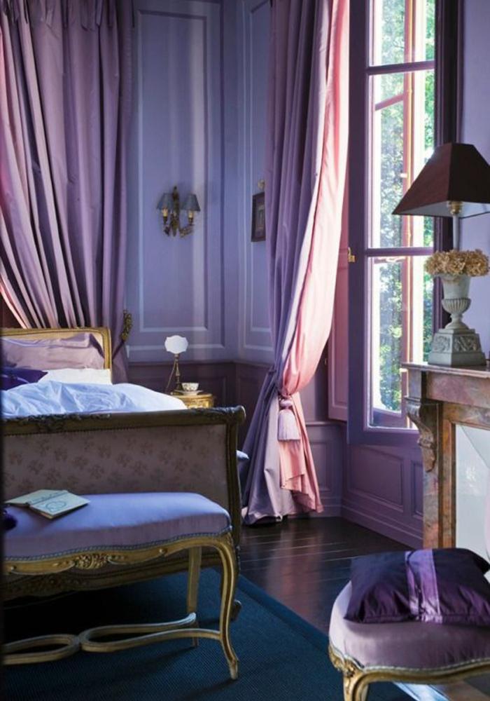 mauve-couleur-chambre-en-violet-design-d-intérieur-parme
