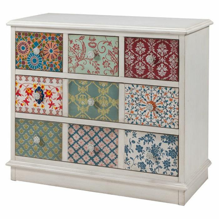meuble-en-bois-coloré-comment-repeindre-les-meubles-patines-joli-modele-pour-les-meubles-en-bois