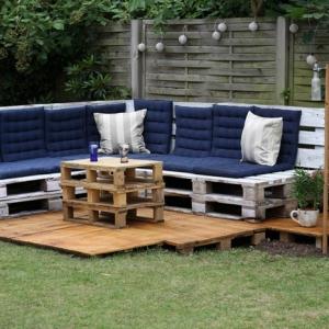 Les meilleures idées pour la terrasse en palette!