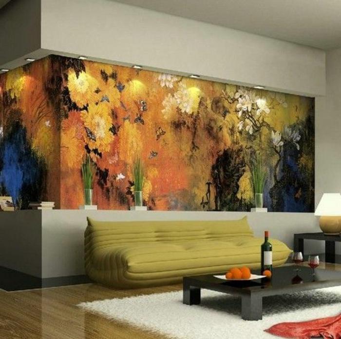 modernes-chauffeuses-bultex-pour-votre-salon-art-tapis-blanc-fausse-faurrure