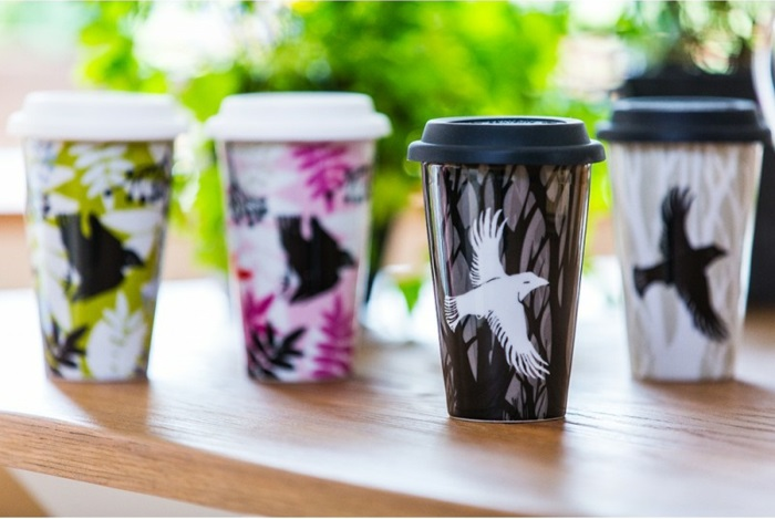 mug-thermos-café-mug-isotherme-thermos-starbucks-oiseaux