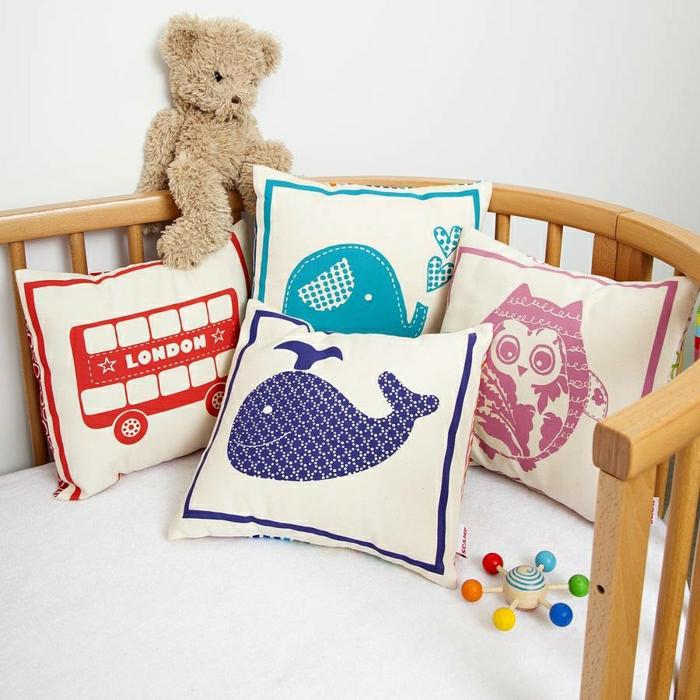 oreillers-enfants-idée-aménagement-intérieur-coussinet-cool