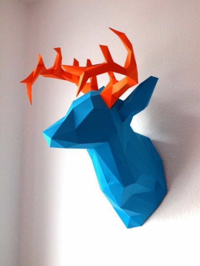 origami-en-forme-d-animal-origami-facile-a-faire-vous-memes-jolie-decoration-murale