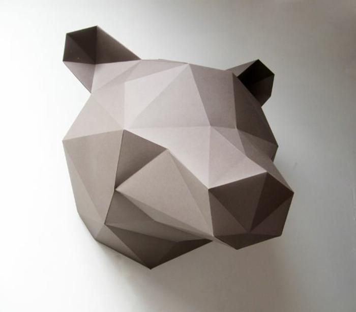 origami-facile-a-faire-pliage-origami-en-forme-d-animal-joli-animal-de-couleur-gris-origami