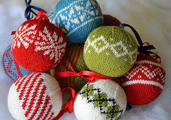 48 diy id es pour cr er une boule de no l originale - Comment faire des decoration de noel ...