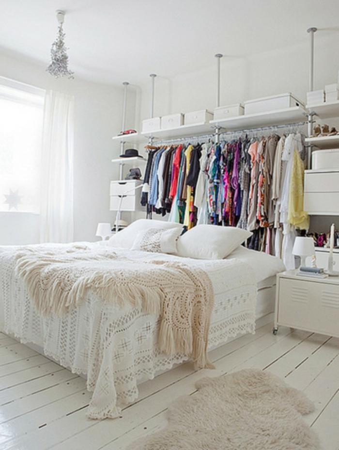 parure-de-lit-bicolore-idée-décoration-chambre-adulte-idée