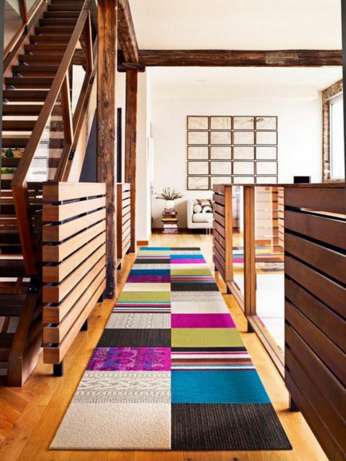 tapis-patchwork-beau-tapis-multicolore-intérieur-intriguant