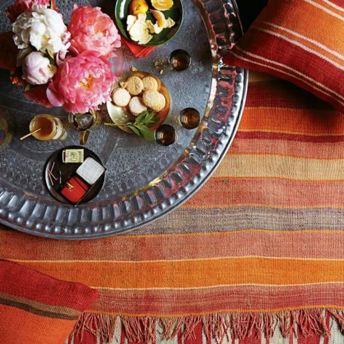 plateau-marocain-servir-le-thé-à-la-mode-marocaine