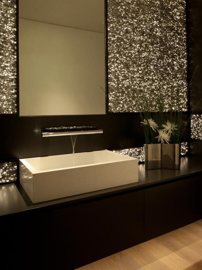robinet mural cascade lavabo rectangulaire salle de bain luxueuse Résultat Supérieur 15 Élégant Cascade Salle De Bain Pic 2018 Ojr7