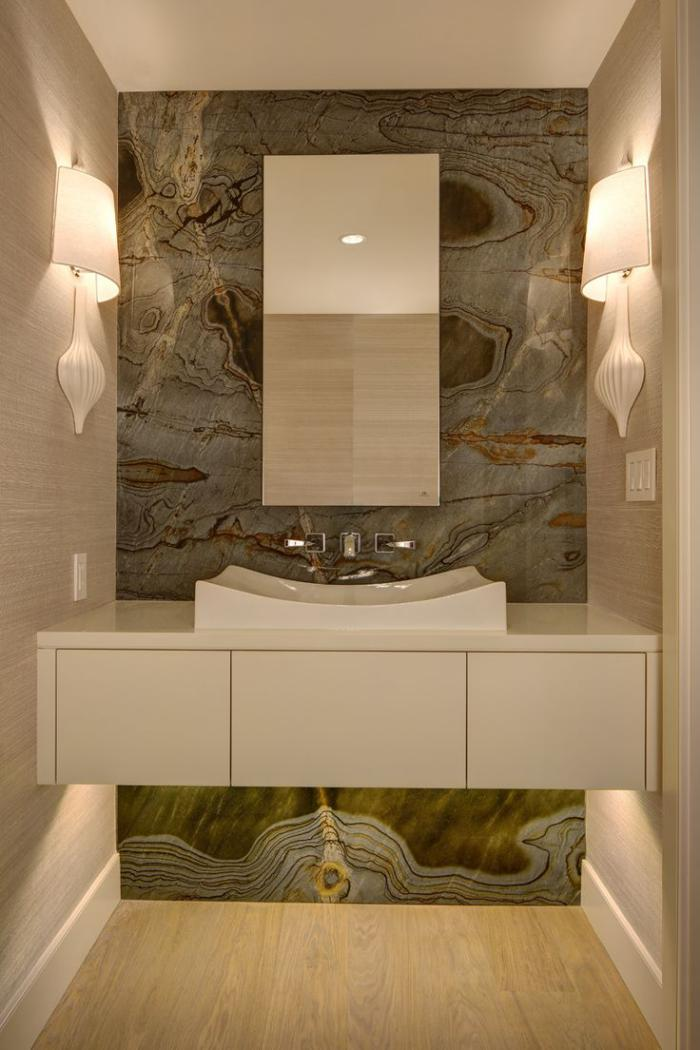 Le robinet mural diff rents designs de mitigeurs for Bathroom remodel 6x7