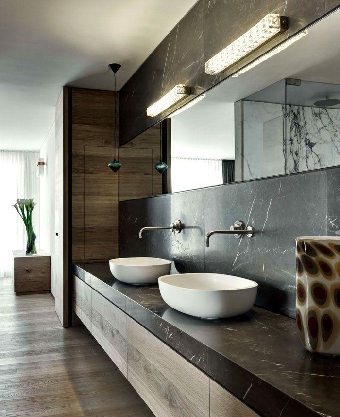 Le robinet mural diff rents designs de mitigeurs - Robinet salle de bain original ...