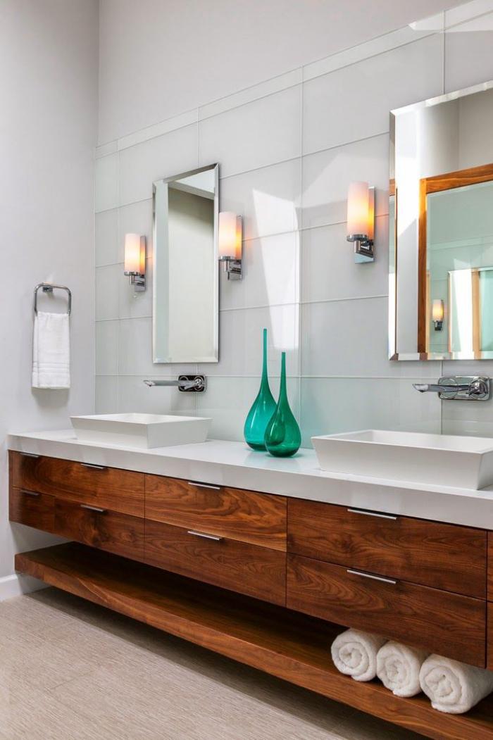 robinet-mural-vasques-blanches-rectangulaires-meuble-en-bois