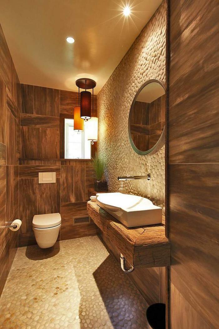 salle-de-bain-rustique-contemporaine-petites-pierres-déco
