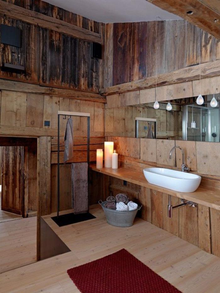 salle-de-bain-rustique-lavabo-a-poser-blanc-bougies