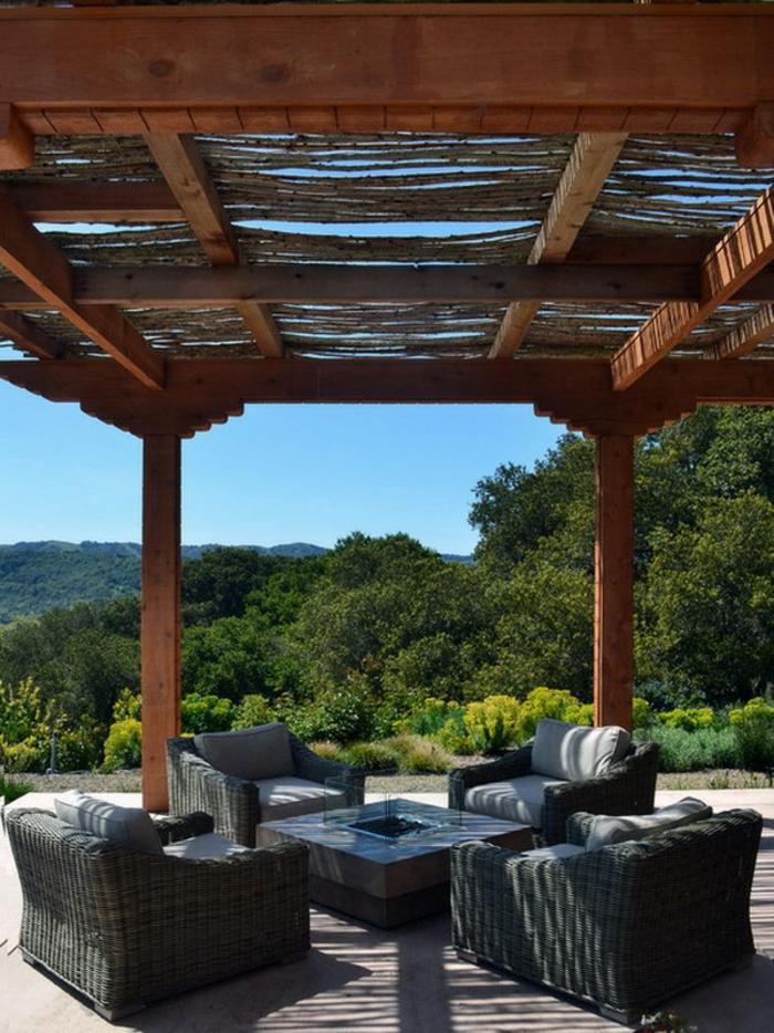 les meilleures id es pour la terrasse en palette. Black Bedroom Furniture Sets. Home Design Ideas