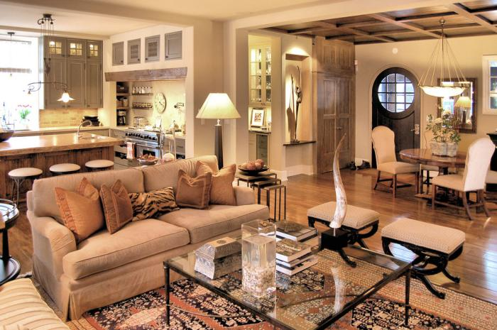 Int rieurs avec table de salon carr e belles solutions for Salon design chaleureux