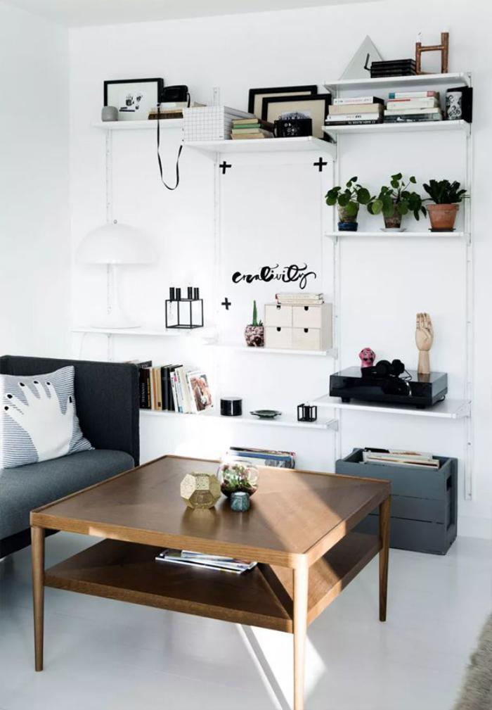 table-de-salon-carrée-pour-l'intérieur-scandinave
