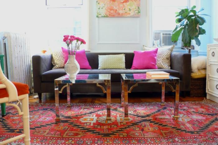 tapis-de-salon-tapis-design-coloré-déco-intérieur-cool-idée