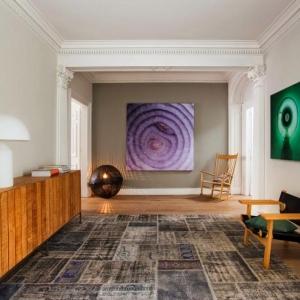 Le tapis patchwork - une décoration facile pour l'intérieur