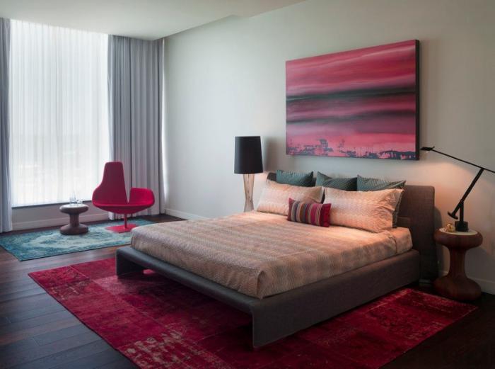 tapis-patchwork-idée-déco-chambre-à-coucher