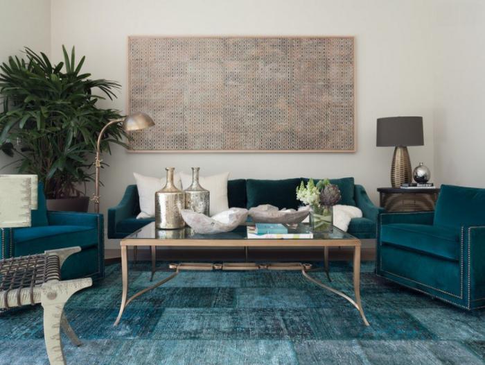 tapis-patchwork-joli-petit-salon-avec-tapis-turquoise