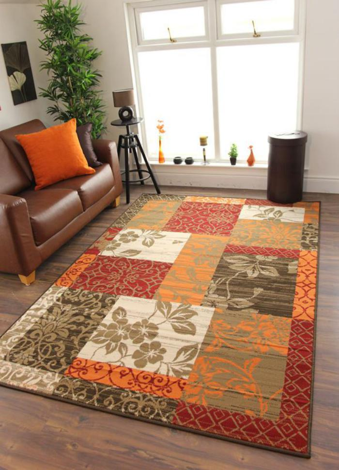 rugs for living room uk le tapis patchwork une d 233 coration facile pour l 23055