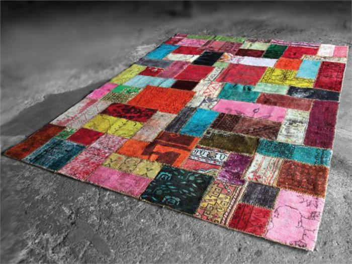 tapis-patchwork-tapis-coloré-style-patchwork